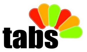 Cropped logo tabs